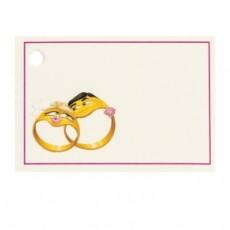 Tarjetas boda anillos