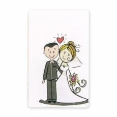 Tarjetas para bodas novios