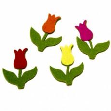Detalles boda diferentes. Pin tulipán
