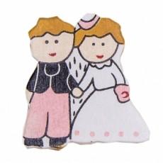 Detalles de boda diy. Clip novios