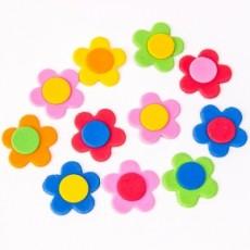 Regalos de boda originales para invitados. Pin flor colores