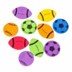 Detalles comunión de fútbol. Pin balones
