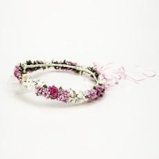 Coronita pajes rosa