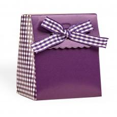 Cajita para regalos morada