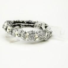 Corona para pajes blanca