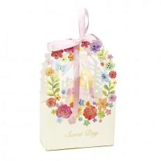 Caja para regalos boda de flores