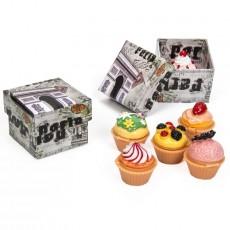 Detalles boda brillo cupcake