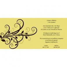 Invitaciones baratas boda