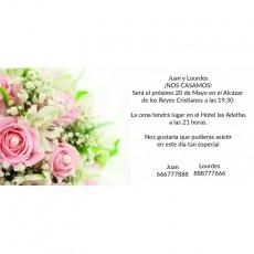 Invitaciones de boda tradicionales