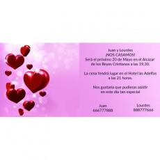 Invitaciones para boda baratas