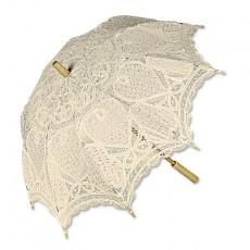Sombrilla novia beige